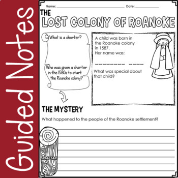13 Colonies (PowerPoint & Guided Notes Worksheets)