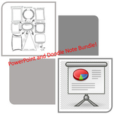 13 Colonies PowerPoint and Doodle Notes bundle - distance