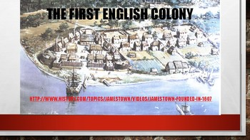 13 Colonies Powerpoint /Interactive Notebook using all Learning Modalities