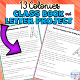 13 Colonies Class Book or Creative Writing Project
