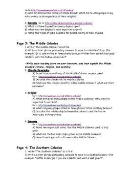13 Colonies Project (Brochure)