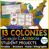 13 Colonies Project | Google Classroom Projects