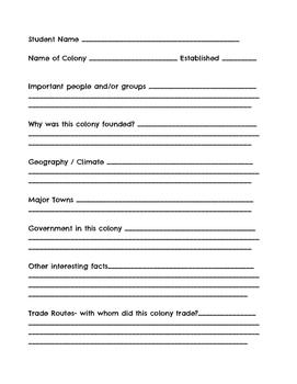 13 Colonies QR Code Project
