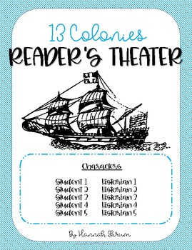 13 Colonies Reader's Theater