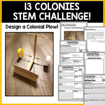 13 Colonies STEM Challenge | The Original Thirteen Colonies