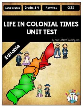 13 Colonies Test {Editable}