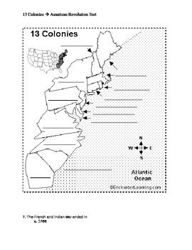 13 Colonies Through American Revolution Test