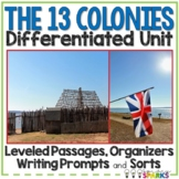 13 Colonies Unit Distance Learning