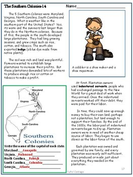 13 Colonies and Colonial Life Settlements