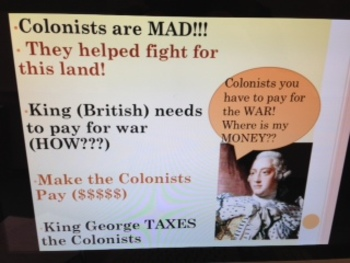 13 Colonies and Taxes Power Point, Notes, Guided Notes and Homework