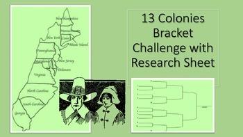 13 Colony Bracket Challenge