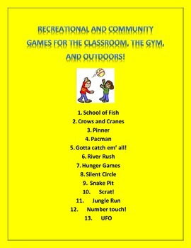 13 Cooperative & Community Games for Students
