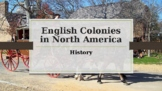 13 English Colonies in North America PowerPoint