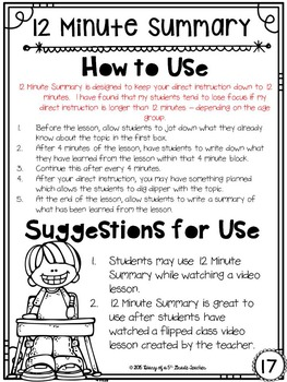 13 Formative Assessments to Use with any Subject