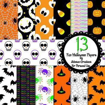 13 Fun Halloween Papers