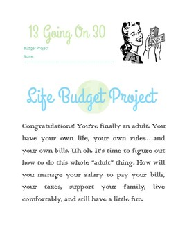 13 Going On 30 Budgeting Project