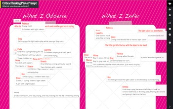 15 Graphic Organizer Backgrounds for Padlet and iPad
