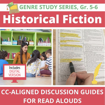 13 Historical Fiction Read Alouds--Versatile and Common Core Aligned, Gr. 5-6