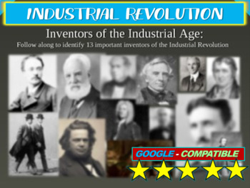 13 Inventors of the Industrial Revolution! Fun, visual, interactive, engaging
