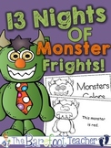 Halloween 'Color My Monster' Emergent Reader {Color Words Practice}