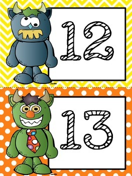 Halloween FREE Countdown {or Calendar} Cards