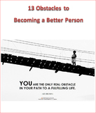13 Obstacles to Becoming a Better Person Unit