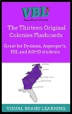 13 Original Colonies ESL English and Spanish Study Guides