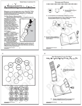 The 13 Colonies Interactive Notebook Unit (THIRTEEN Colonial America Lessons!)
