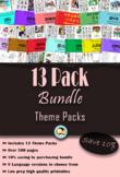 13 Pack Bundle (English)