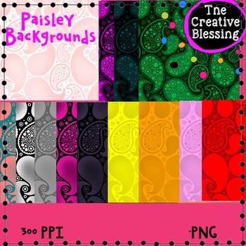 13 Paisley Backgrounds