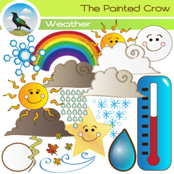 Weather Clip Art - Atmospheric Conditions Weather Clipart