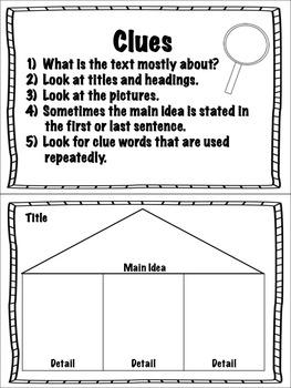 Reading Common Core Printable Mini-Books to Teach Comprehension