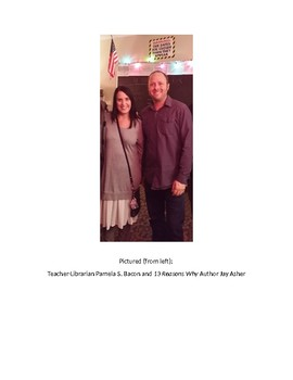 13 Reasons Why Author Jay Asher Picture