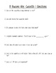 13 Reasons Why Chapter Questions