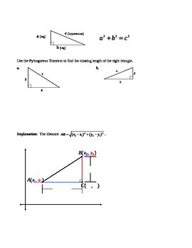 1.3 Segments and Their Measures (B)
