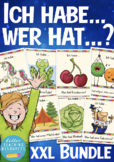 14 Spiele / Games zum Deutsch lernen / Vocabulary game, Spiel - BUNDLE! SAVE !!