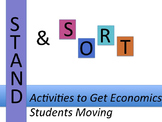 13 Stand and Sort Activities to Get Economics Students Moving
