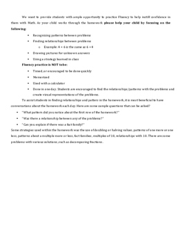 13 Weeks of 5th Grade Fluency HW