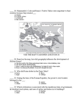 UNIT 2 LESSON 9. World History Unit 2 TEST