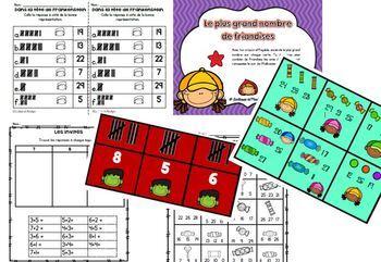 13 ateliers mathématiques Octobre les nombres de 1 à 30