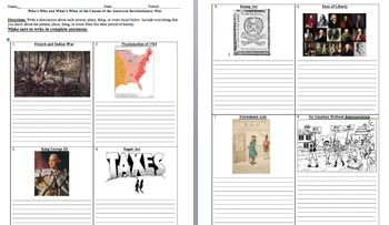 13 colonies and Taxes Complete Unit (PPT, Notes, Hmk, Tests,Projects)