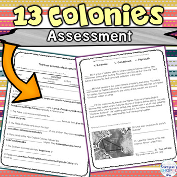 13 Colonies Assessment
