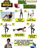 13 Superhero & Hero Fitness Warm-up Activity Bundle for PE Distance Learning