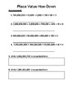 13-digit Place Value Hoe Down (up to 90 students activity)
