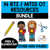 OT RTI MTSS PROBLEM SOLVING 14 downloads bundle .... SPED 400+ pages