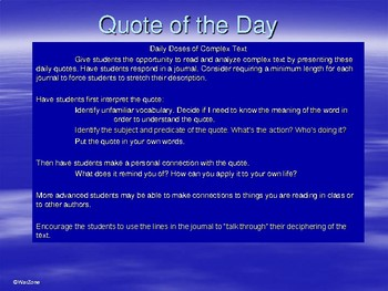 130 Daily Quotes for Journals and Bell Ringers