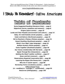 1301-2 Effects of Environment on Life and Culture (North America)