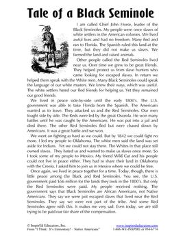 1301-9 The Seminoles of Florida