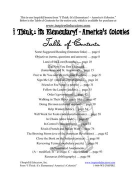 1303-1 Roanoke History Mystery (Grades 3-5)