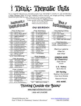 1304-14 The American Revolution Multiple Perspective (Grades 3-5)
